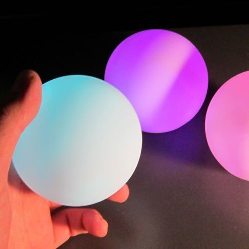 Led Round Ball Decor Lamp 9 Mode Multi Color In 2020 Ball Lamps Ball Lights Centerpiece Lamp