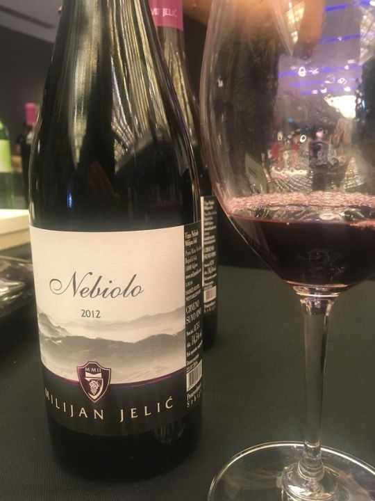 Grand Tasting 2019 Belgrade Vinarija Jelic S Nebiolo 2012 Nebbiolo 100 From Valjevo Southwestern Serbia Dark Color For The Varietal Barolo Varietal Wine