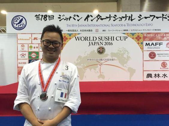 Un chef français en demi-finale de la coupe du monde de #sushi