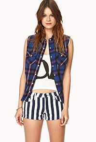 Dames shorts, shorts met hoge taille, korte shorts en jeans shorts | shop online | Forever 21