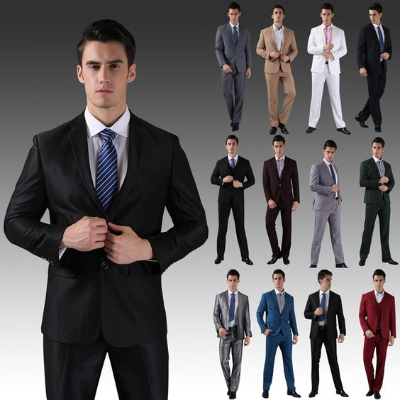 (Jackets+Pants) 2014 New Men Suits Slim Custom Fit Tuxedo Brand Fashion Bridegroon Business Dress Wedding Suits Blazer  H0285-in Suits from Apparel & Accessories on Aliexpress.com | Alibaba Group
