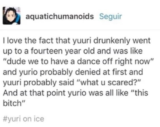 Drunk dance off - #YuriOnIce: ifunny