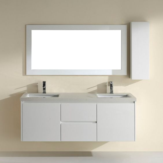 Charming Kitchen Bath And Beyond Tampa Thick Decorative Bathroom Tile Board Solid Bathroom Suppliers London Ontario Good Paint For Bathroom Ceiling Youthful Bathroom Vanities Toronto Canada GrayReviews Best Bathroom Faucets Bauhaus Bath Bamos 63 In. Double Bathroom Vanity Set With Mirror ..