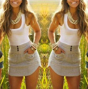 Encontrar Más Vestidos Información acerca de 2015 nuevas mujeres del remiendo vestidos o cuello sin mangas ocasional del mini vestido, alta calidad Vestidos de LovaRu en Aliexpress.com