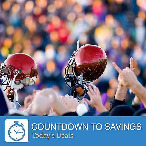 Are you ready for some #football? Let today's Countdown to Savings deals put you in the front row at the next big game. Book now as the deals end at midnight. (Link in our bio) Hotels-live.com via https://instagram.com/p/782MZWzUfI/