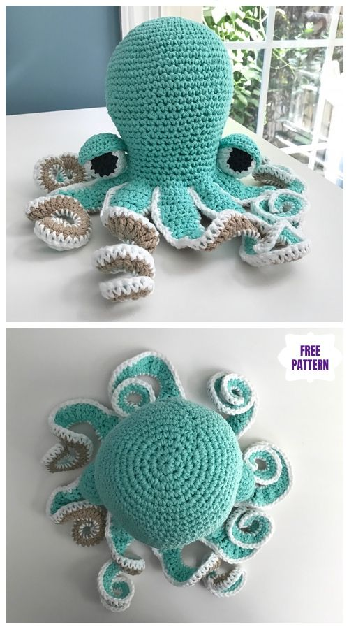 Crochet Octavia The Octopus Amigurumi Free Pattern Crochet