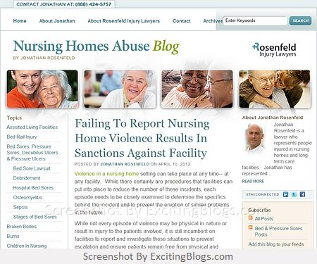 Nursing Homes Abuse Blog : Jonathan Rosenfelds Nursing Homes Abuse Blog : Jonathan Rosenfelds Nursing Homes Abuse Blog | Lawyer & Attorney : Rosenfeld Injury Lawyers | Bed Sores, Senior Neglect, Elder Abuse, Sexual Abuse: Chicago, Illinois - Click to visit blog:  http://1.33x.us/ItKHsn