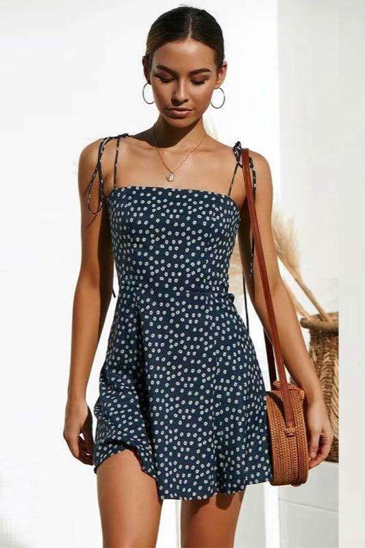 short casual short cute summer dresses