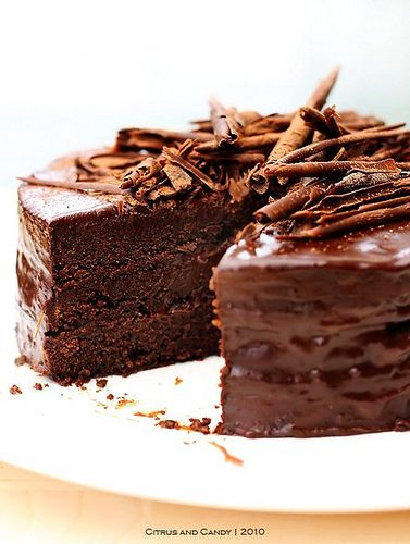 Ultimate Chocolate Cake by Citrus and Candy, via Flickr