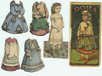 McLoughlin Dora with Envelope, Doll & 4 Dresses (03/26/2014)