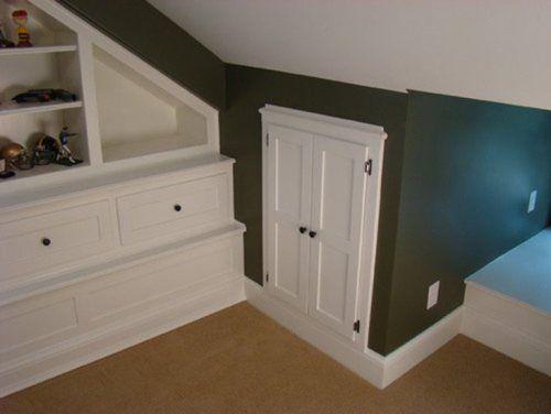 Knee Wall Door Attic Remodel Attic Rooms Attic Doors