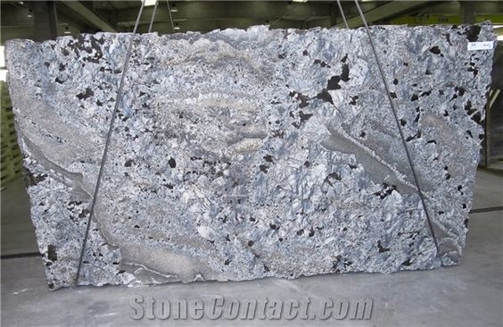 Azul Araras Blue Granite Slabs Brazil Blue Granite From