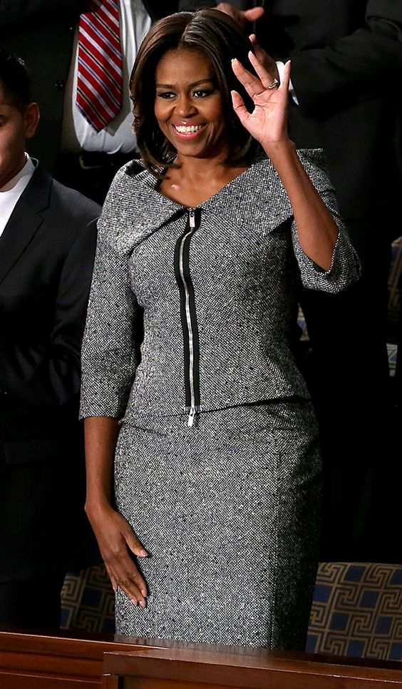 Michelle Obama Us States And Tweed On Pinterest