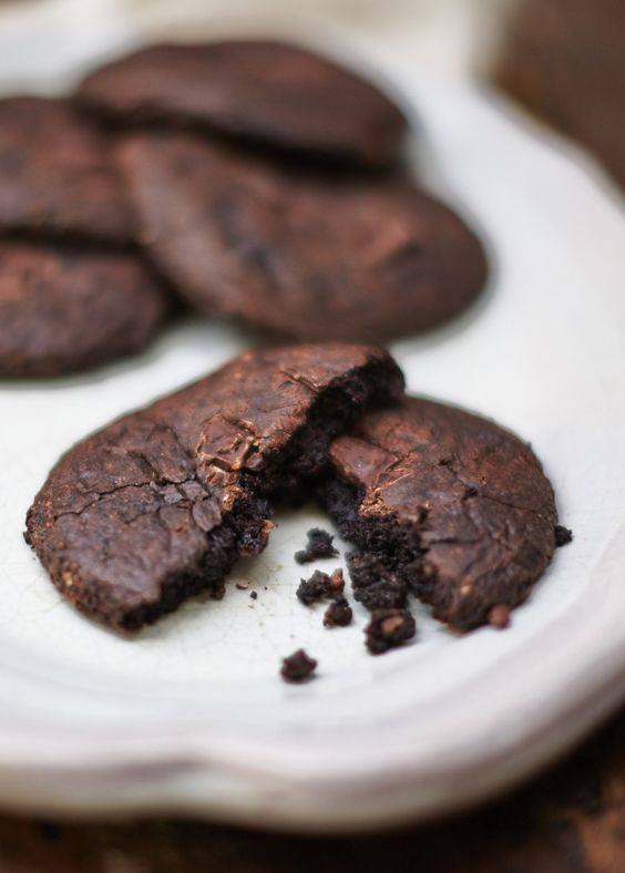 DAIRY & GLUTEN-FREE CHOCOLATE AVOCADO COOKIES By Bee's Bakery I've got a feeling that our chocolate avocado cookies might just be a new signature cookie, as butter is high saturated fats, and avocado is delicious.