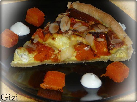 Sütőtökös-túrós quiche | Recept | Gasztrotipp