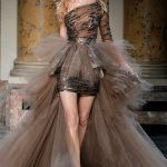 Zuhair Murad brown dress