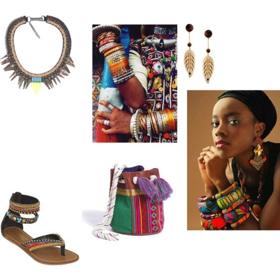 """""""ETHNIQUE"""" by coco-731 on Polyvore"""