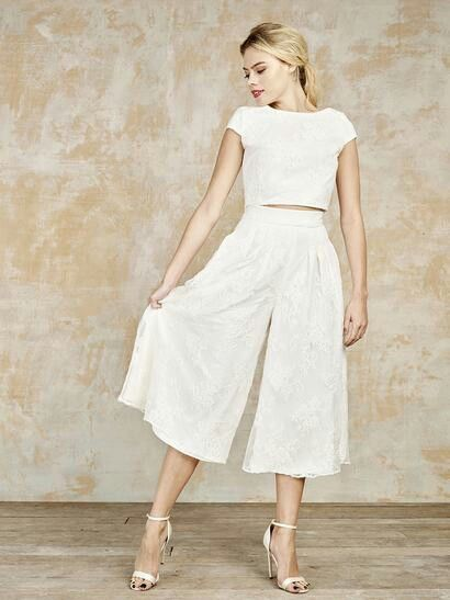 Lace culottes - House of Ollichon