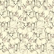 Woodland (white background)