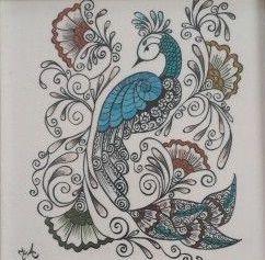 Contoh Gambar Dekoratif Hewan, Tumbuhan dan Motif Hias (Dengan ...