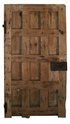 Puerta de madera antigua puertas pinterest antigua y - Fachadas rusticas castellanas ...