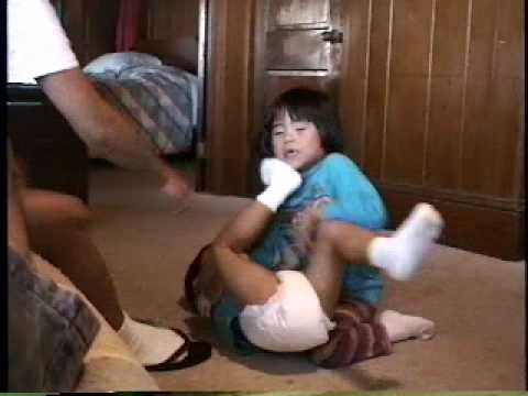 """Best Asian Toddler Fight Ever. Followed by the best youtube comment for the video:   """"the 3rd kid with no shirt on was just like b*tch ik u dueling n shit but the f*ck u had to throw my legos for? lol""""  pnswnikki 2 weeks ago 6"""