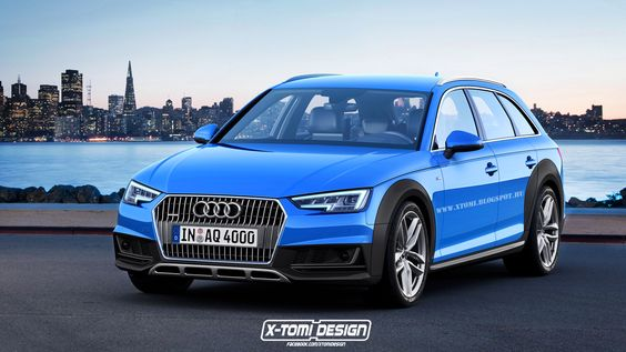 2017 #Audi #A4 Allroad – #Rendering -