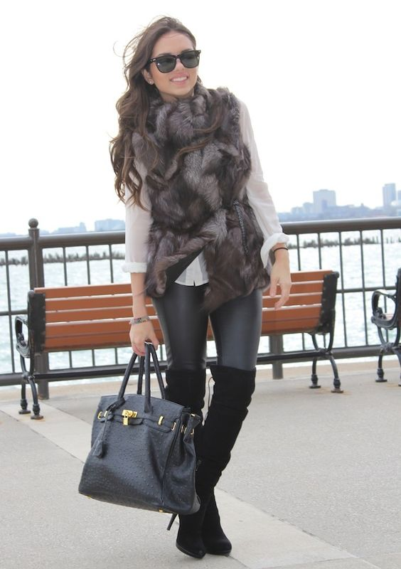 Fur and boots is always a win.