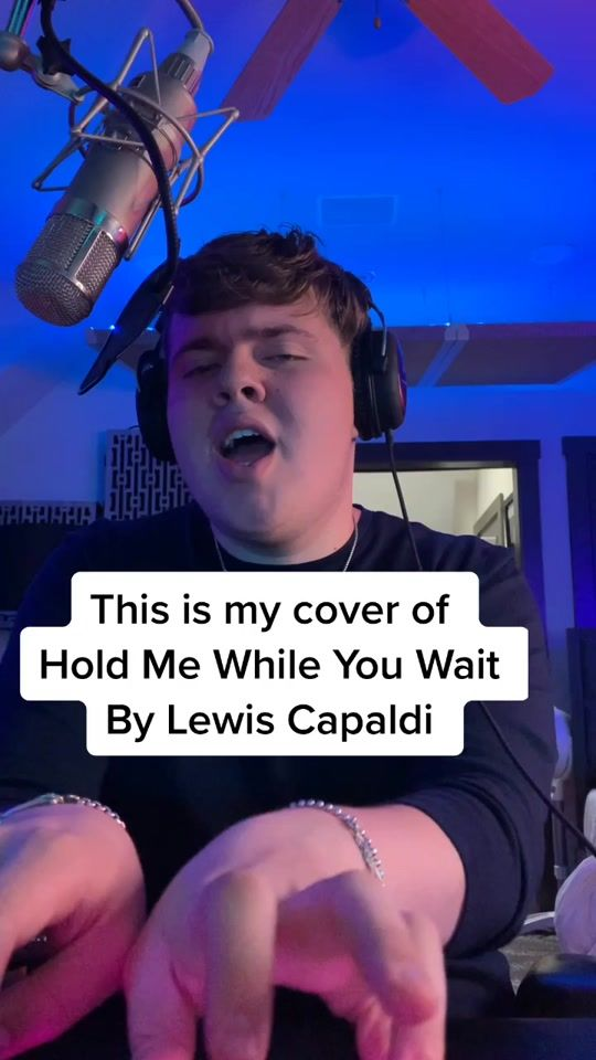 Livingston Cover Of Hold Me While You Wait Created By Livingston Popular Songs On Tiktok Singing Videos Songs To Sing Good Vibe Songs