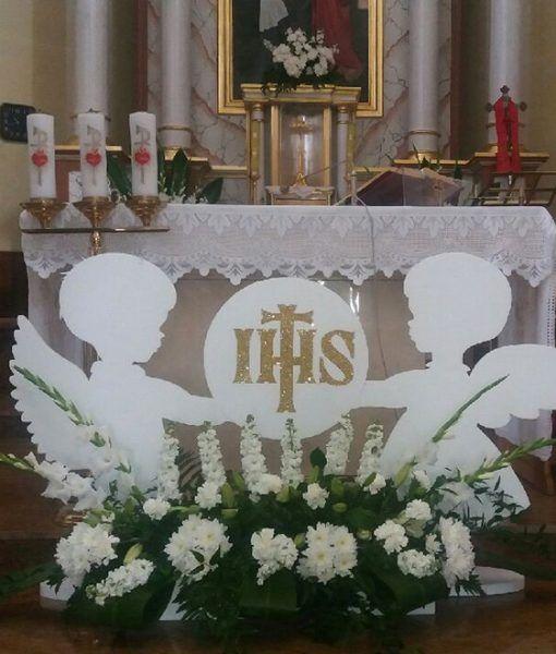 Vysledok Vyhľadavania Obrazkov Pre Dopyt Komunia Kosciol First Communion Decorations Church Altar Decorations Communion Decorations