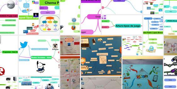 Blog de mapas mentales. 6º de primaria. Primer trimestre
