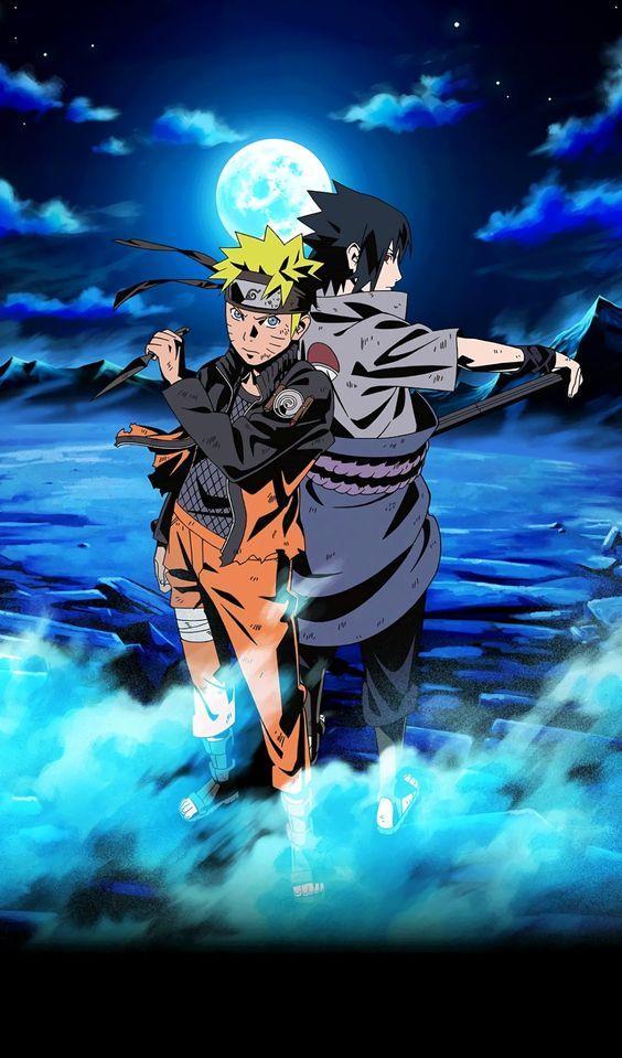 Naruto Dan Sasuke Naruto Vs Sasuke Manga Naruto Et