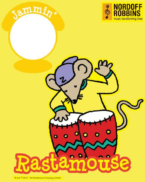 Upload your child's photo and name via our app and create a Rastamouse T-Shirt www.t-booth.net