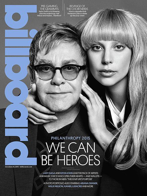 Lady Gaga e Elton John