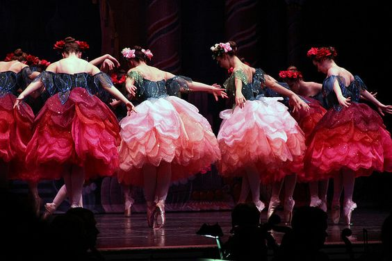 Waltz of the Flowers, from the NutCracker Maine state Ballet