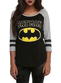HOTTOPIC.COM - DC Comics Batman Girls Raglan