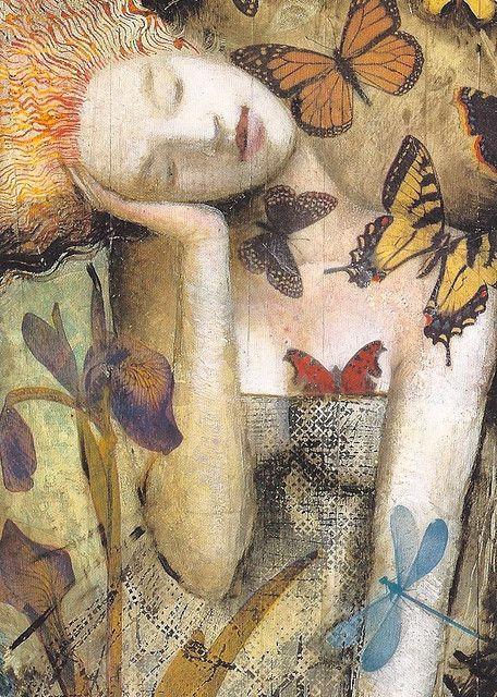 "la-pitonisa-tropical: "" Neil Gaiman's ""The Sandman: Delirium"" ~ illustrated by…"