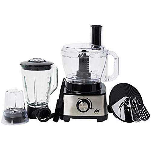 1.5L Large Tabletop Food Blender Smoothie Maker Grinder Juicer Mixer Silver