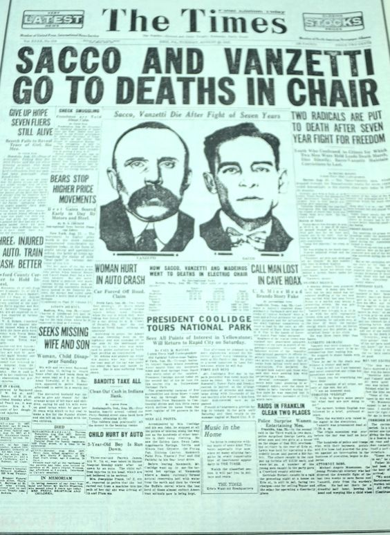 sacco and vanzetti research paper This example sacco-vanzetti trial essay is published for educational and informational purposes only if you need a custom essay or research paper on this topic.
