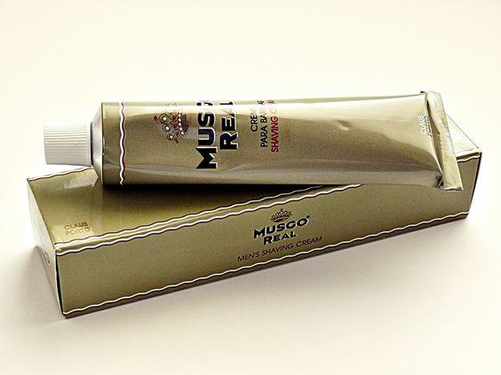Musgo Real Lime Basil Shaving Cream (100ml)