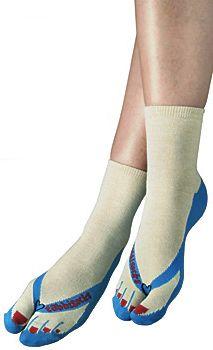 Socks That Look Like Flip-Flops