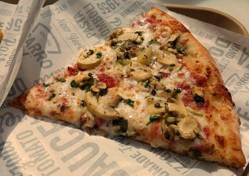 Richard Reviews Everything Sbarro Mushroom Pizza Mushroom Pizza Stuffed Mushrooms Food