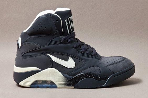 "Nike Sportswear Air Force 180 High ""Gunmetal""   Hypebeast"