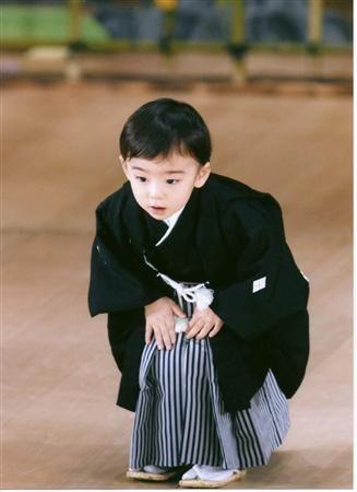 幼き日の八代目市川染五郎のかっこいい画像