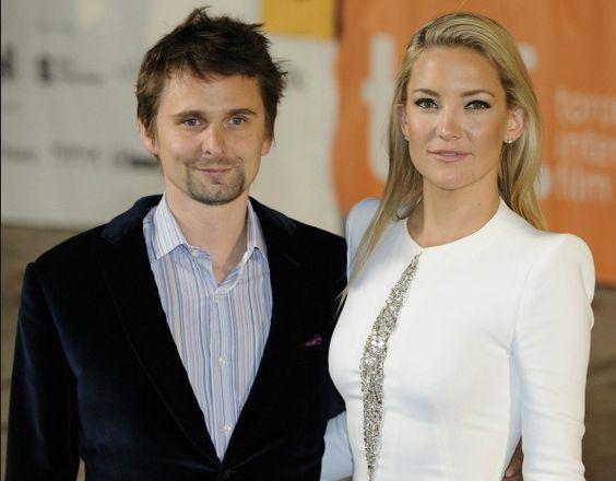 Kate Hudson and Mathew Bellamy