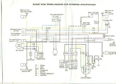 suzuki rv90 wiring diagram  wiring diagram loaddesign