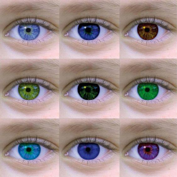 Es posible cambiar el color de los ojos cu ntos colores for Cuantos codones existen