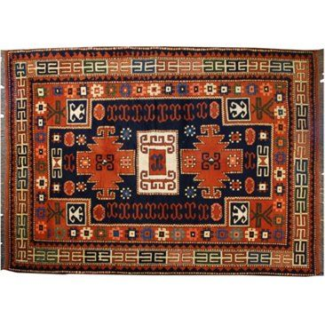 Check out this item at One Kings Lane! Afghan Carpet, 5' x 7'