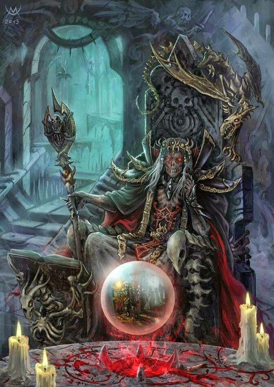 Portal dos Mitos: Lich