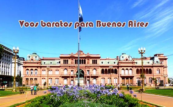 Mais de 40 voos para Buenos Aires em promoção com saída em SP #buenosaires #voos #passagens #promoção